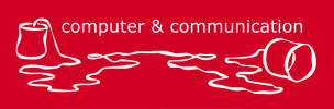 Logo computer & communicaton